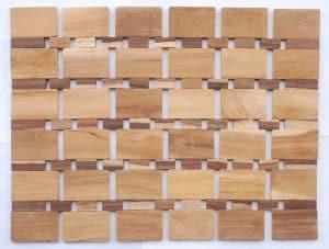 Combi Brick Jati Sono Nat NC Placemat Unique Carpet
