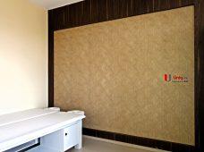 Pemasangan wallpaper di Kapulaga Spa Jimbaran