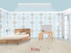 Pemasangan wallpaper motif new dream