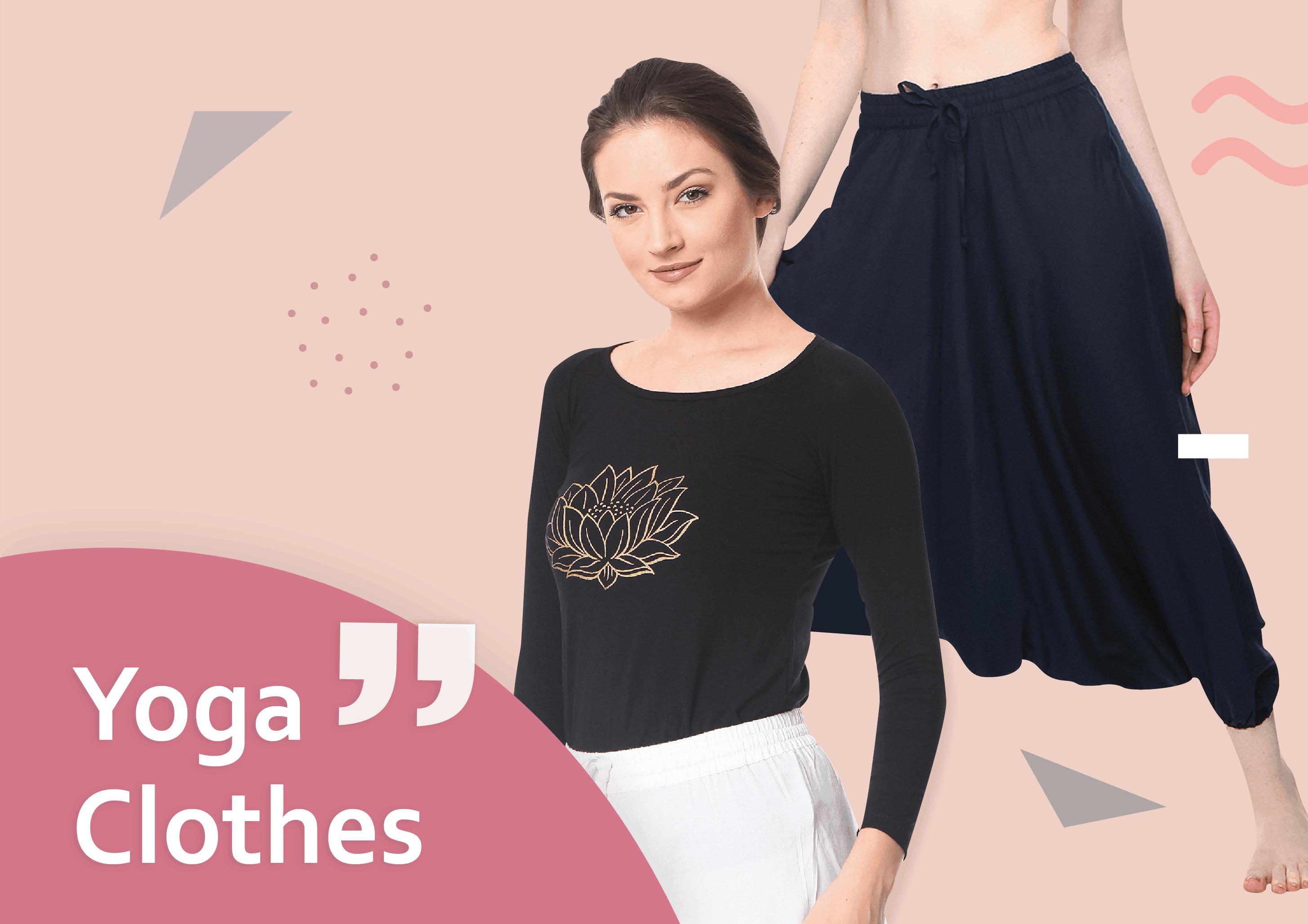 toko baju yoga murah dengan bahan lembut berkualitas export