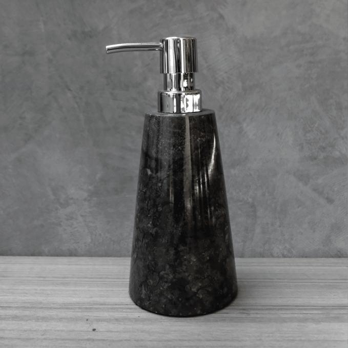 black marble dispenser big