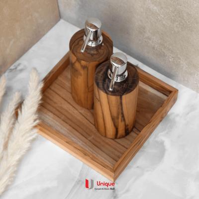 1 Set Natural Wooden Amenities